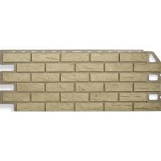 Фасадная панель Альта - Профиль Кирпич Желтый  0,53 м²