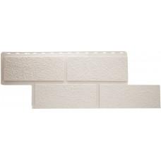 Фасадная панель Альта - Профиль Неаполь Белый  0,536 м²