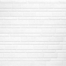 Термопанель металлическая Costune, декоративный кирпич белый