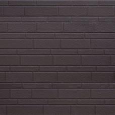 Термопанель металлическая Costune, декоративный кирпич, светло-коричневый