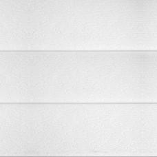 Термопанель металлическая Costune, дерево 3 доски, белая