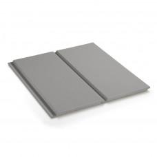 Фиброцементный сайдинг CEDRAL Click Smooth (гладкий) С05 Серый Минералы