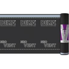 Мембрана Супердиффузионная трехслойная DELTA Neo Vent с клеевыми краями (75м²)