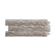 Фасадная панель под камень Docke Fels Перламутровый 0,45 м²