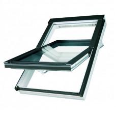 Мансардное окно ПВХ Fakro PTP U3 Стандарт 114х118 см (ручка снизу)