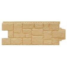 Фасадная панель Grand Line крупный камень песочный 0,376 м²