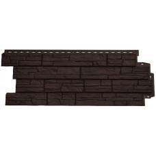 Фасадная панель Grand Line сланец коричневый 0,39 м²