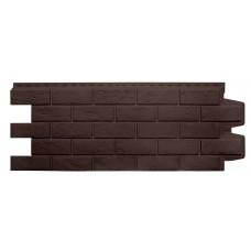 Фасадная панель Grand Line состаренный кирпич коричневый 0,39 м²
