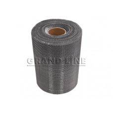 Вентиляционная алюминиевая лента для карнизного свеса 20см х 20м