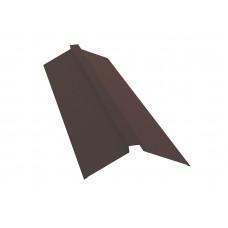 Конёк п-образный для металлочерепицы 115х30х115мм