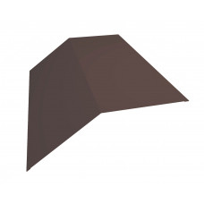 Конёк плоский для металлочерепицы 145х145мм