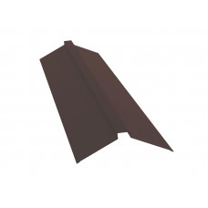 Конёк п-образный для металлочерепицы 150х40х150мм