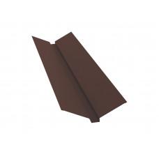 Ендова верхняя для металлочерепицы 115х30х115мм