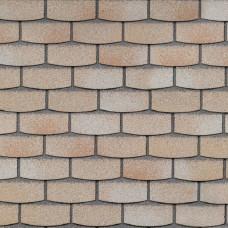 Фасадная плитка Hauberk Травертин Камень 2.2м² в уп
