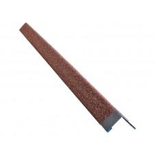 Внешний угол для плитки Hauberk терракотовый 50х50х1250мм