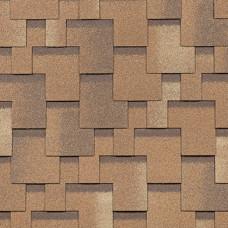Гибкая Черепица Shinglas Комфорт Болеро Песок (3м²)