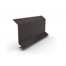 Планка примыкания для мягкой черепицы Шинглас PE-foil, 2м
