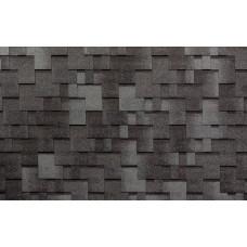 Гибкая черепица Tegola Альпин чёрный с отливом (3,45м²)