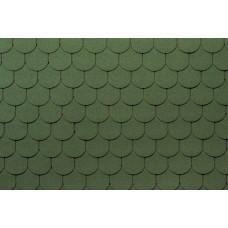 Гибкая черепица Tegola Антик зеленый (3,5м²)