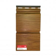 Виниловый сайдинг VOX System Max-3 цвет Золотой дуб, длина 3,85 м (0,96 м²)