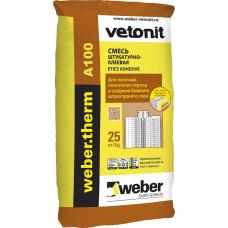 Штукатурно-клеевая смесь Weber Therm A100